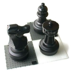 Large Plastic Chess Board - 30cm Tiles