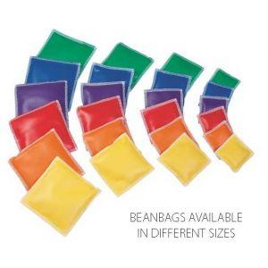 13cm Square Vinyl Beanbags - Pack of 12