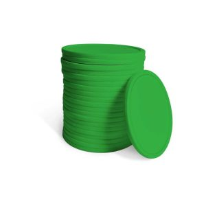 21 Replacement Green 10.5cm Diameter Coins - Fits YG4624