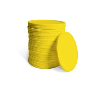 21 Replacement Yellow 10.5cm Diameter Coins - Fits YG4624