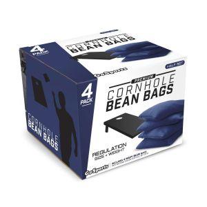 Premium Cornhole Bean Bag Set of 4 - Blue