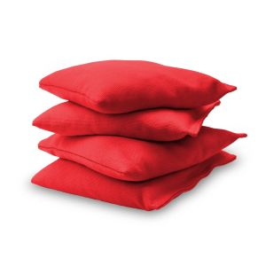 Premium Cornhole Bean Bag Set - Red