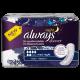 Always Discreet for Sensitive Bladder Maxi Night Pads 6 Carton