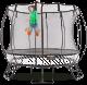 Tgoma - 3.6m Medium Round Springfree Smart Trampoline