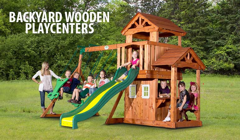 Backyard Discovery Playcenters
