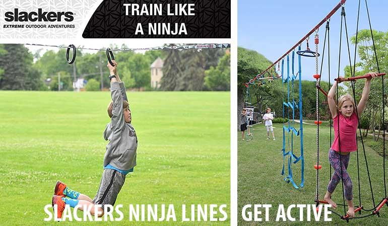 Train Like a Ninja with Slackers Ninjalines