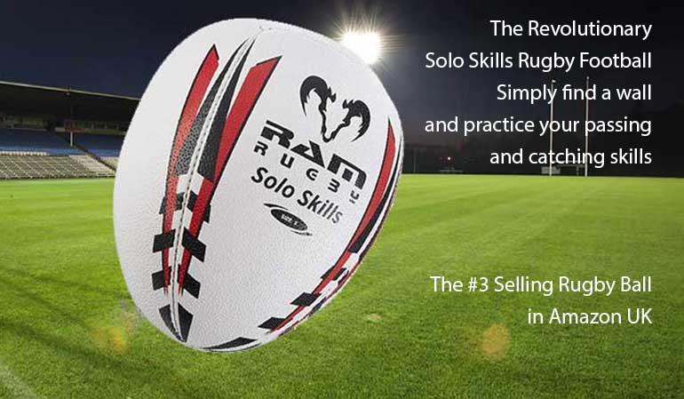 Solo Skills Rebounder Rugby Footballs