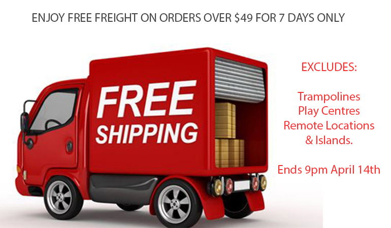 Free Freight on Orders over $49